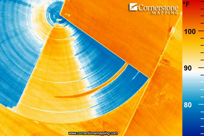 Precision Ag Thermal Infrared Cornerstone Mapping